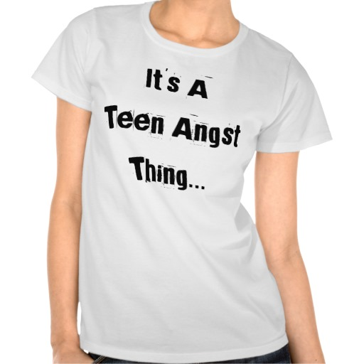 A t-shirt intended for teens...clearly designed by adults. Available at zazzle.com.